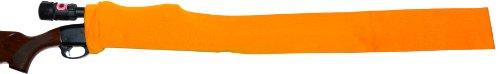 GunSoc - VCI Rust Inhibitor Impregnated 52 Inch Gun Sock - Orange - Rifle and Shotgun Storage - Vapor Control Inhibitor - Protection for Firearms - Gun Socks