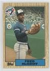 1987 Topps Traded Baseball (Fred McGriff (Baseball Card) 1987 Topps Traded - [Base] - Tiffany #74T)