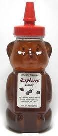 Fisher Honey Honey Bear Raspberry - Raspberry Honey