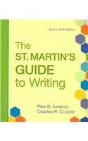 St. Martin's Guide to Writing 9e Short Edition & Sticks and Stones 7e