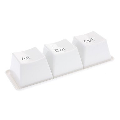 Kaifina Ctrl + Alt + Del Pattern Keyboard Style 350ml Cup Set