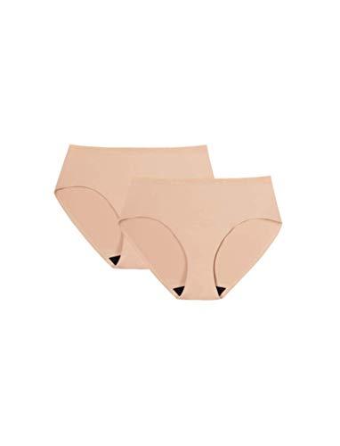 ICON Hiphugger Pee-Proof Underwear 2-Pack, S, Beige