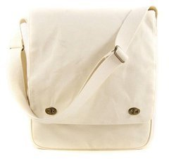 Prima 920548 Donna Downey Canvas Tote Messenger Bag, 16-1/4 by 13-1/4-Inch