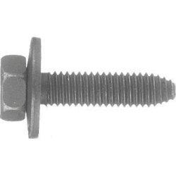 A Plus Parts House Compatible with GM 11502941, 11506174 (25pc) Body Bolts 6mm x 20mm 10mm Head with 17mm Loose - Body 20mm Wide