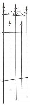 stabiles Rankgitter Paris rostfrei aus Eisen Höhe 190 cm