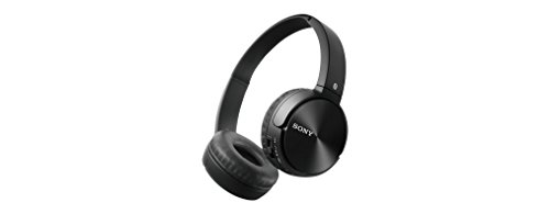 Sony MDR-ZX330BT Cuffie Wireless con Microfono Integrato, Bluetooth, NFC, Micro-USB, Nero
