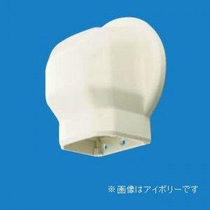 パナソニック 10個セット 《スッキリダクト》 壁面取出しカバーPタイプ(室内用) 80型 アイボリー DAS2802W_set