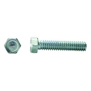 DrillSpot #10-24 x 3-1/2'' Zinc Indented Hex Head Unslotted Machine Screw, Pack of 700