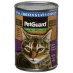 (PetGuard Canned Cat Food Fish Chicken and Liver Dinner -- 14 oz)