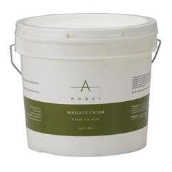 Amber Green Tea Mint Massage Cream 1 Gal