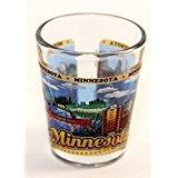 Minnesota State Wraparound Shot Glass