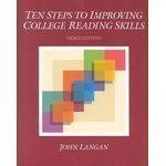 Ten Steps to Improving College Reading Skills 3rd Edition