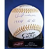 Best Rawlings Hall of Fame Memorabilia Sports Collectibles Sports Memorabilia Baseball Gloves - Signed Vic Davalillo Rawlings Gold Glove Official Major Review