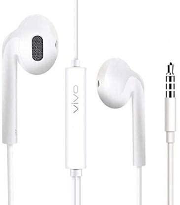 Used for New vivo Earphone in Ear HD Sound Quality and HICH BASS HD Sound Quality MIC vivo Earphone V7 / V7 Plus /V5 /V5 Plus /S1 /X27I/Y91/Y15/Y12Y93/Y81/V15PRO/Y17V9 3.5 MM Jack