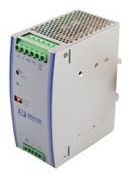 XP POWER DSA150PS48 AC/DC DIN Rail Power Supply, Ultra Slim, Adjustable, Fixed, 90 V, 264 V, 150 W, 48 V, 3.125 A