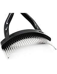 (Eyelash Comb Metal Teeth Separator Professional Mascara Cosmetic Tool for Grooming Lash & Brow)