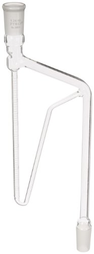 Corning Pyrex Borosilicate Glass Oil Dilution Distilling Receiver with 24/40 Standard Taper Joints, 5ml Capacity