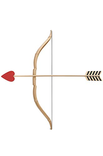 California Costumes Mini Bow and Arrow Set, Gold/Red, One ()