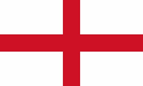 Shoe String King SSK England (St. George's Cross) Outdoor Flag - Large 3' x 5', Weather-Resistant Polyester
