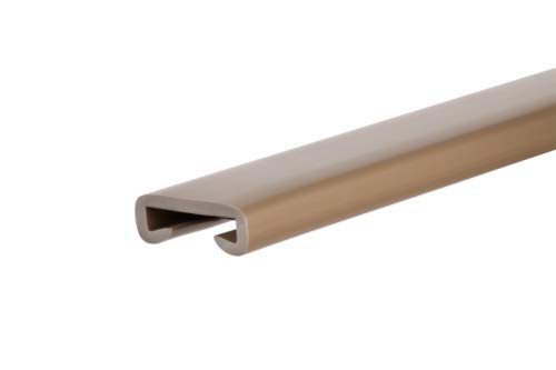 rot 1m Handlauf PVC Kunststoff Treppenhandlauf 40x8 mm viele Farben