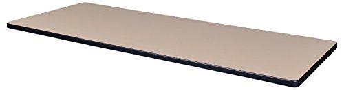 Regency TTRC7224BEGY Rectangular Standard Table Top, 72 x 24, Beige/Grey