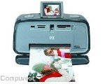 HP A618 Photosmart Compact Photo Printer with Built-in Wireless Bluetooth Technology by HP