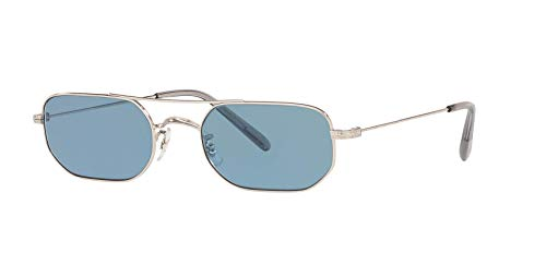 Oliver Peoples - Indio - 1263ST 51 503656 - Sunglasses (Silver, ()