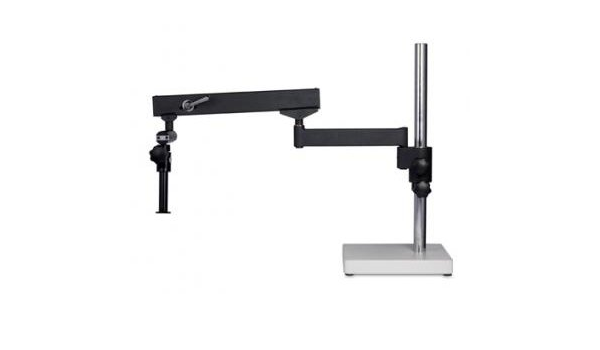 Universal Stand for Stereo Microscope Round Base 25mm Diameter Pole Motic 1101010100042 600mm Length