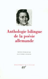 Anthologie bilingue de la poésie allemande par Lefebvre