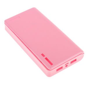 save off 8cece f8e0d Amazon.in: Buy Pink-20000mah Power Bank Case Kit 6X18650 Battery ...