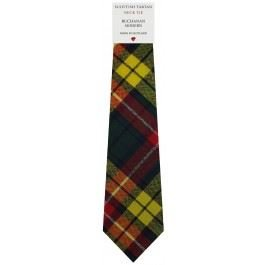 Mens Tie All Wool Made in Scotland Buchanan Modern Tartan