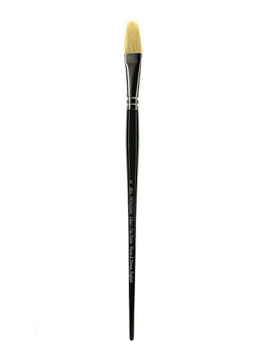 Winsor & Newton Winton Hog Bristle Brush-Filbert #10