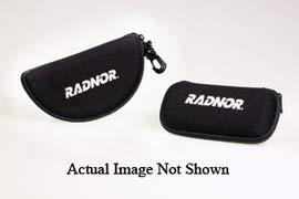Radnor Black Eyewear Pack with Zipper Closure - 5/Bag (5 Bags)