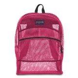 JanSport Mesh Pack Backpack, Pink Tulip