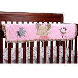 Summer Tutu Cute Nursery Crib Hugger (Summer Infant Bed Rail Pink)