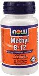 NOW Foods Methyl B-12 5000mcg, 60