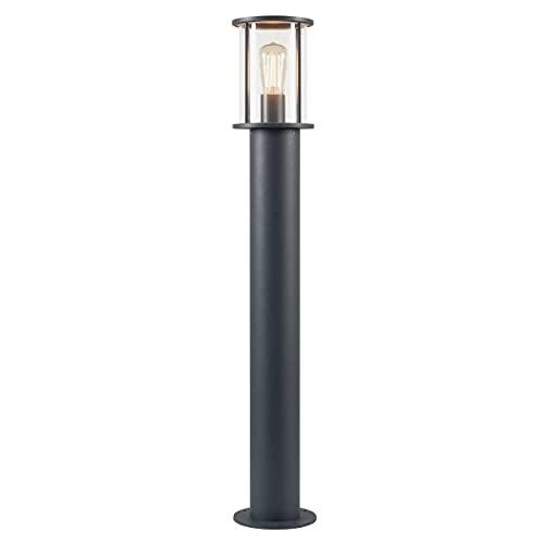 SLV photonia lámpara, aluminio, vidrio, antracita, 15 x 15 x 90 cm, E27 230volts
