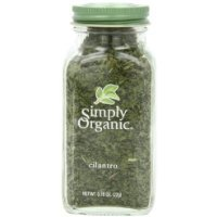 Simply Organic Cilantro Certified Organic, 0.78-Ounce Container have a problem Contact 24 hour service Thank You