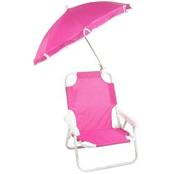 Redmon Beach Baby Umbrella Chair Hot Pink by Redmon