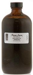 Neemaura Naturals Neem Seed Oil, Azadirachta Indica, 16 Fluid -