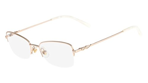 Eyeglasses MARCHON TRES JOLIE 162 757 SHINY GOLD from MarchoNYC