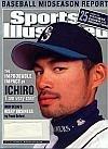 Sports Illustrated July 8, 2002 Ichiro Suzuki, Tiger Woods, Soccer World Cup, Derek Lowe/Boston Red Sox