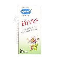 Hylands Hives Relief Tablets  Natural Relief Of Harsh  100 Quick Dissolving Tablets