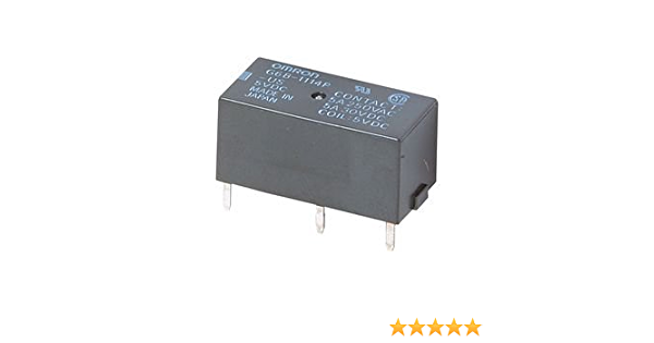 OMRON ELECTRONIC COMPONENTS G6B-2114P-1-US-DC24 POWER RELAY SPST-NO//NC 24VDC 5A PC BOARD