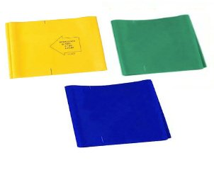 Balego Stretch Bands Resistance Package, Yellow/Green/Blue, Medium