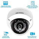 Hikvision 4MP WDR PoE Network Dome Camera - DS-2CD2142FWD-I 4mm from Hikvision