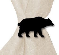 NR-14 Bear Napkin Ring