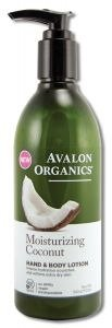 Avalon Organics Moisturizing Coconut Hand & Body Lotion, 12 (Avalon Coconut)