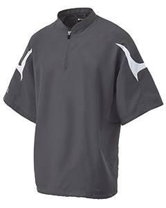 Holloway 222485 Men's Equalizer Jacket Sportswear 3XL Graphite/White, Graphite/White, XXX-Large