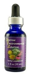 Yarrow Environmental Solution gouttes Flower Essence Services 1 oz liquides